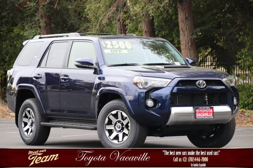 Vehicle details - 2019 Toyota 4Runner at Toyota Vacaville