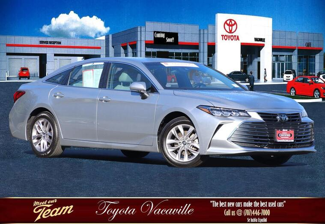 2019 Toyota Avalon Xle Sedan Vacaville CA