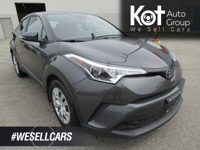 2019 Toyota C-HR LE! CROSSOVER! RARE UNIT! NO ACCIDENTS! CLEAN UNIT! BACKUP CAM! BLUETOOTH! Kelowna BC