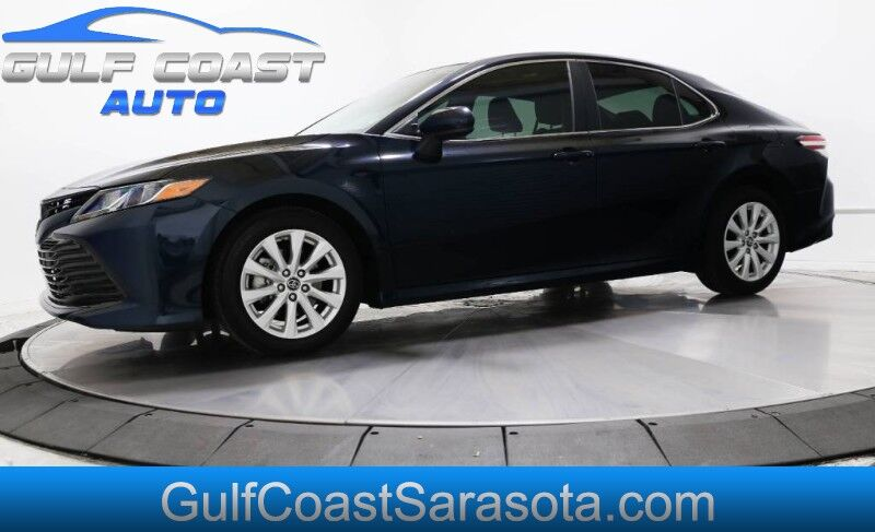 2019 Toyota CAMRY LE CAMERA ONLY 13K MILES LIKE NEW 1FL OWNER Sarasota FL