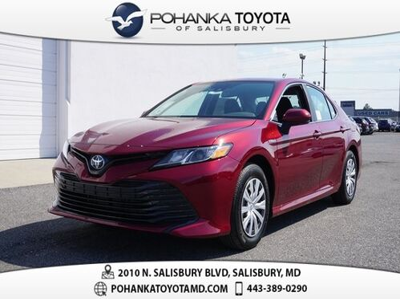 2019_Toyota_Camry_Hybrid LE_ Salisbury MD