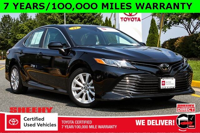 2019 Toyota Camry LE 7 YEARS 100,000 MILES WARRANTY Stafford VA