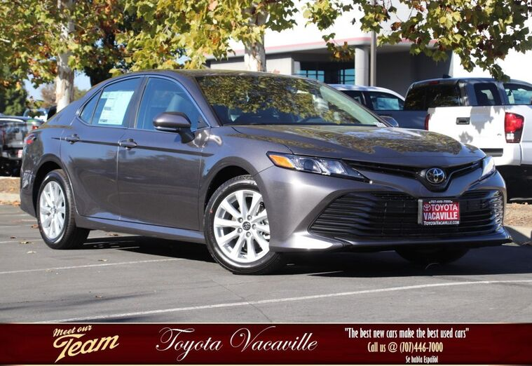 2019 Toyota Camry LE Vacaville CA