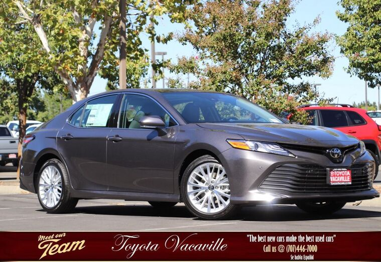 2019 Toyota Camry XLE Vacaville CA