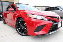 2019_Toyota_Camry_XSE V6 CLEAN CARFAX 1 OWNER LOADED!!!_ Houston TX