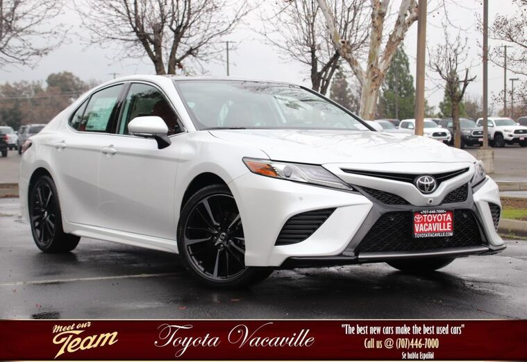 2019 Toyota Camry XSE Vacaville CA