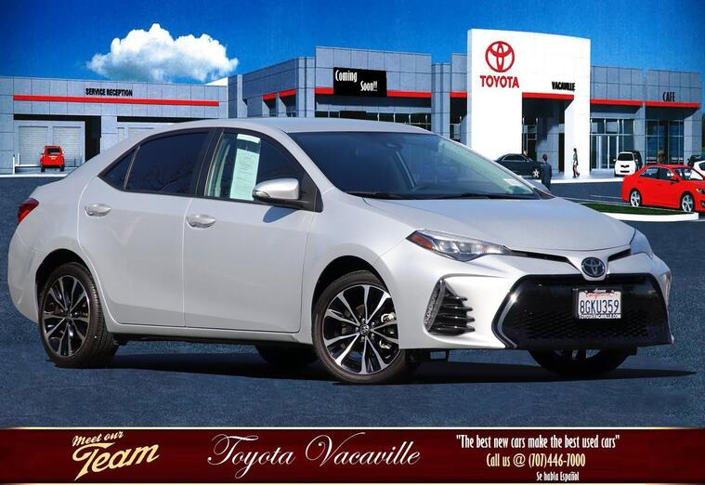 2019 Toyota Corolla COROLLA SE Vacaville CA