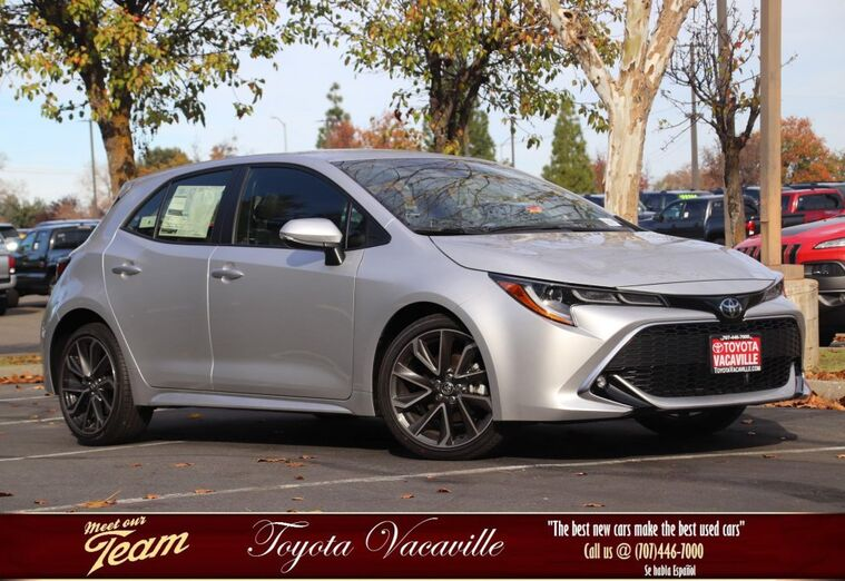 2019 Toyota Corolla Hatchback XSE Vacaville CA