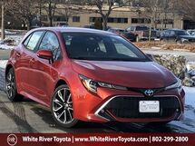 2019 Toyota Corolla Hatchback XSE White River Junction VT