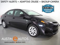 2019_Toyota_Corolla LE_*LANE DEPARTURE ALERT, COLLISION ALERT, ADAPTIVE CRUISE, BACKUP-CAMERA, COLOR TOUCH SCREEN, MULTI-FUNCTION STEERING WHEEL, BLUETOOTH PHONE & AUDIO_ Round Rock TX