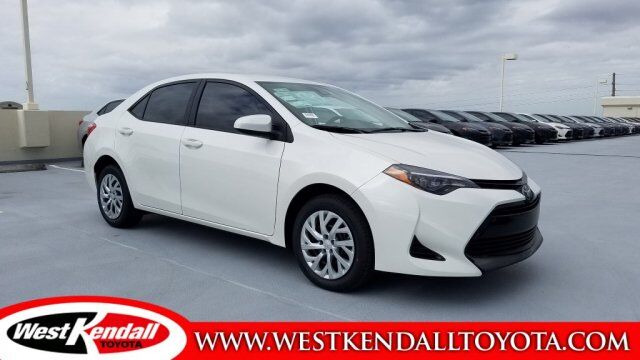 2019 Toyota Corolla Le For Sale West Kendall Toyota In