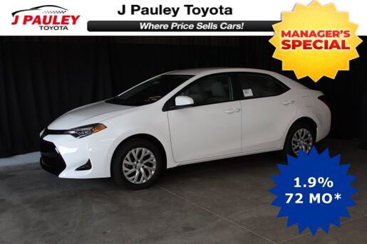 2019_Toyota_Corolla_LE Model Year Closeout!_ Fort Smith AR