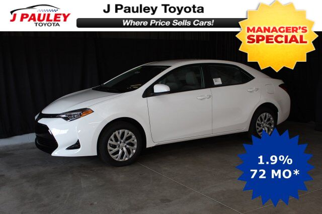 2019 Toyota Corolla LE Model Year Closeout! Fort Smith AR