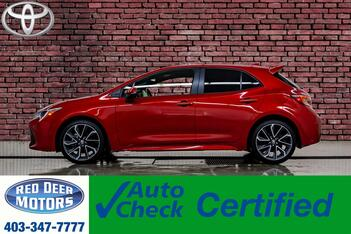 2019_Toyota_Corolla_SE Hatchback BCam Bluetooth_ Red Deer AB