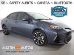2019 Toyota Corolla SE *LANE DEPARTURE ALERT, COLLISION ALERT w/BRAKING, BACKUP-CAMERA, ADAPTIVE CRUISE, SCOUT GPS, TOUCH SCREEN, ALLOY WHEELS, BLUETOOTH PHONE & AUDIO