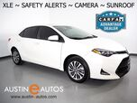 2019 Toyota Corolla XLE *LANE DEPARTURE & COLLISION ALERTS, BACKUP-CAMERA, SCOUT GPS, ADAPTIVE CRUISE, TOUCH SCREEN, MOONROOF, LEATHER, HEATED SEATS, PUSH BUTTON START, BLUETOOTH