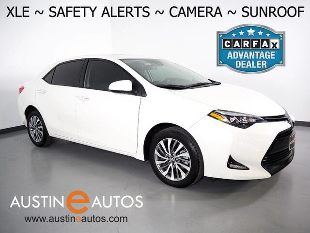 2019 Toyota Corolla XLE *LANE DEPARTURE & COLLISION ALERTS, BACKUP-CAMERA, SCOUT GPS, ADAPTIVE CRUISE, TOUCH SCREEN, MOONROOF, LEATHER, HEATED SEATS, PUSH BUTTON START, BLUETOOTH Round Rock TX