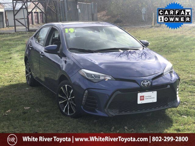 2019 Toyota Corolla XSE White River Junction VT