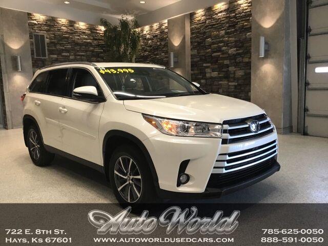 2019 Toyota HIGHLANDER XLE AWD  Hays KS