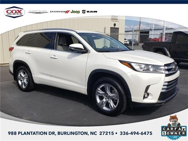 2019 Toyota Highlander Burlington NC