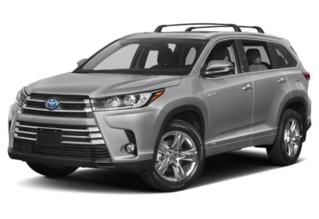 2019 Toyota Highlander Hybrid LE Vacaville CA