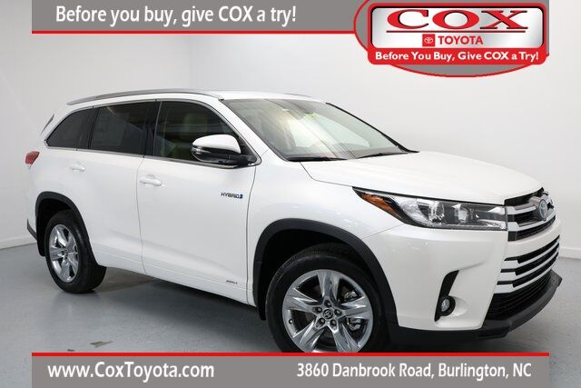 2019 Toyota Highlander Hybrid Limited Burlington NC