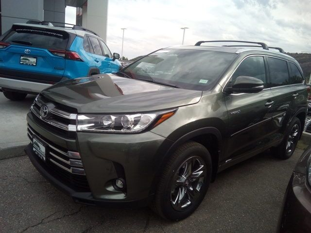 New 2019 Toyota Highlander Limited Platinum In Durango Co