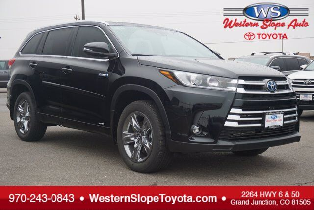 2019 Toyota Highlander Hybrid Limited Platinum Grand Junction CO
