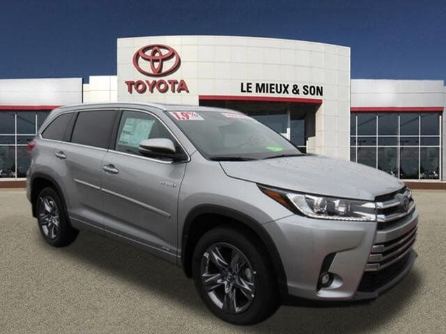 2019 Toyota Highlander Hybrid Limited Platinum Green Bay WI