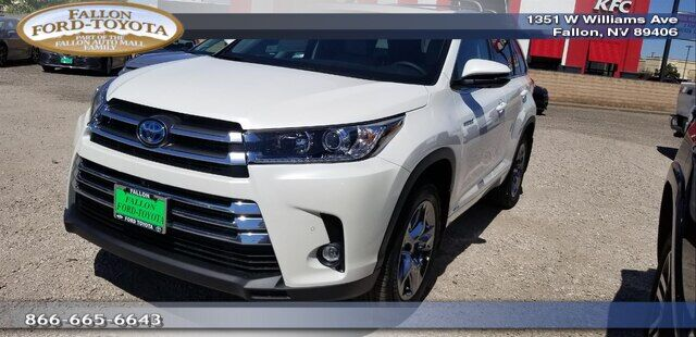 2019 Toyota Highlander Hybrid Limited Platinum V6 Fallon NV