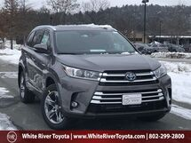 2019 Toyota Highlander Hybrid Limited Platinum White River Junction VT