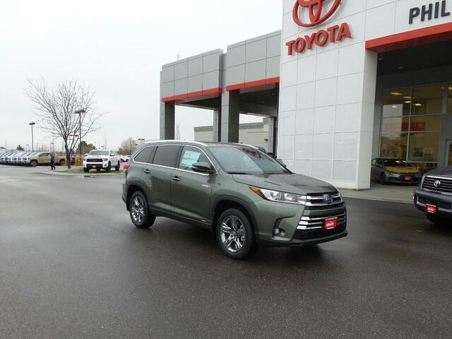 2019 Toyota Highlander Hybrid Limited Pocatello ID