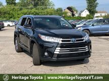 2019 Toyota Highlander Hybrid XLE South Burlington VT