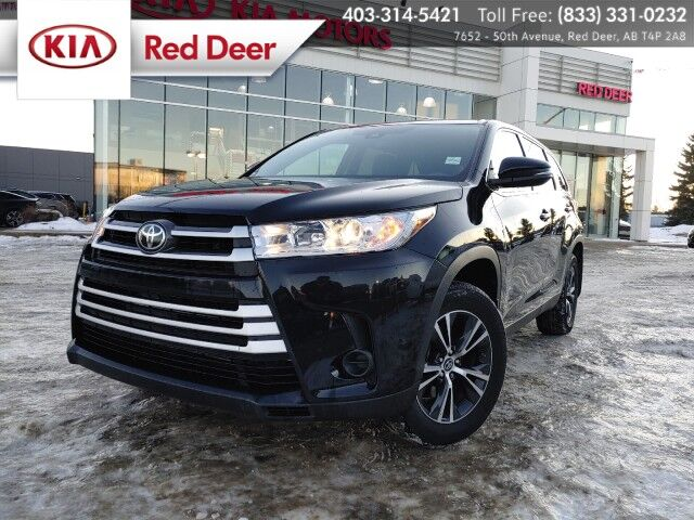 2019 Toyota Highlander LE, AWD, V6, Back-up Camera Red Deer AB