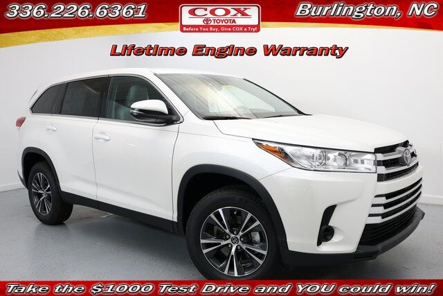 2019 Toyota Highlander LE Burlington NC