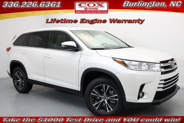 2019 Toyota Highlander LE Plus Burlington NC