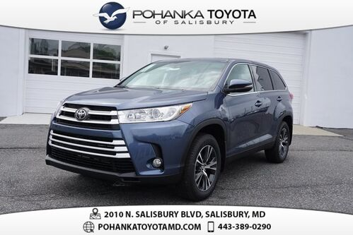 2019_Toyota_Highlander_LE Plus_ Salisbury MD