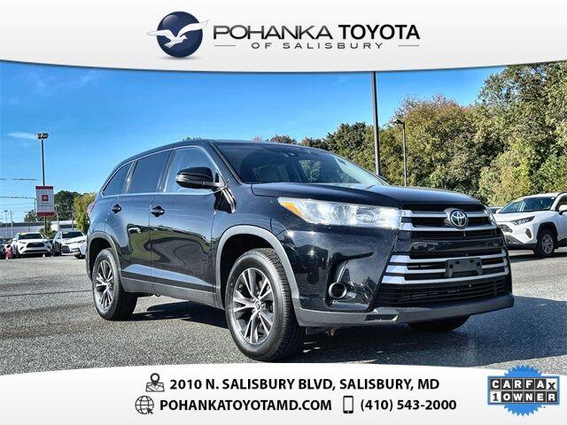2019 Toyota Highlander LE Salisbury MD