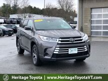 2019 Toyota Highlander LE South Burlington VT