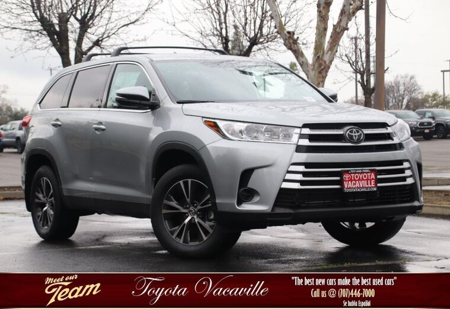 2019 Toyota Highlander LE Vacaville CA