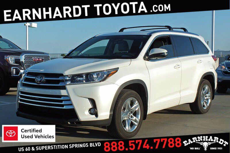 2019 Toyota Highlander Limited AWD *1-OWNER* Mesa AZ