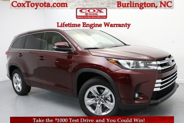 2019 Toyota Highlander Limited Burlington NC