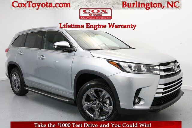 2019 Toyota Highlander Limited Platinum Burlington NC