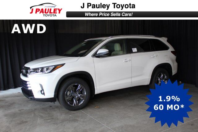 2019 Toyota Highlander Limited Platinum Fort Smith AR