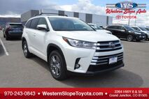 2019 Toyota Highlander Limited Platinum Grand Junction CO