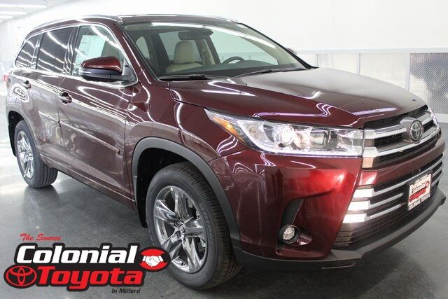 2019 Toyota Highlander Limited Platinum Milford CT