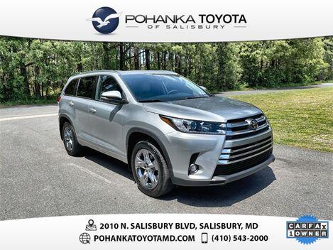 2019_Toyota_Highlander_Limited Platinum_ Salisbury MD