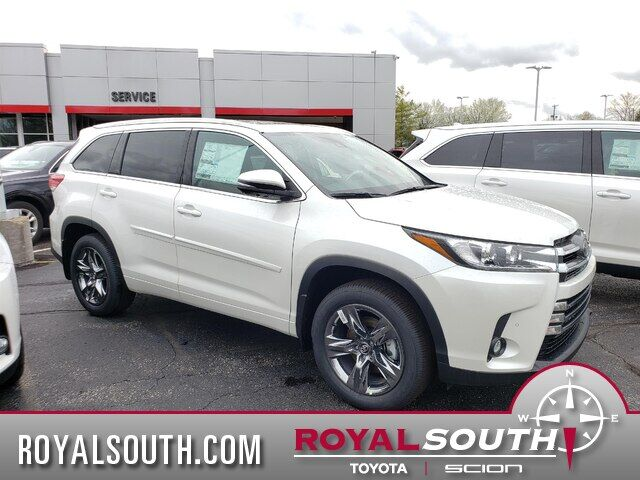 Toyota Highlander Limited >> 2019 Toyota Highlander Limited Platinum V6