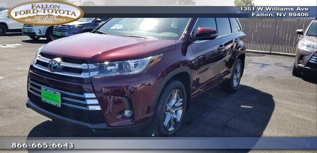 2019 Toyota Highlander Limited Platinum V6 Fallon NV