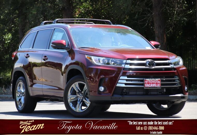 2019 Toyota Highlander Limited Platinum Vacaville CA